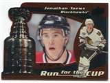 2008/09 Upper Deck Black Diamond Run for the Cup #CUP8 Jonathan Toews /100