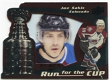 2008/09 Upper Deck Black Diamond Run for the Cup #CUP11 Joe Sakic /100