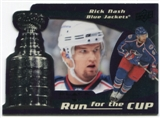 2008/09 Upper Deck Black Diamond Run for the Cup #CUP12 Rick Nash /100