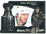 2008/09 Upper Deck Black Diamond Run for the Cup #CUP14 Mike Modano /100