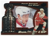 2008/09 Upper Deck Black Diamond Run for the Cup #CUP15 Pavel Datsyuk /100