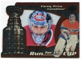 2008/09 Upper Deck Black Diamond Run for the Cup #CUP22 Carey Price /100