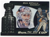2008/09 Upper Deck Black Diamond Run for the Cup #CUP25 Rick DiPietro /100