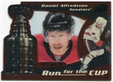 2008/09 Upper Deck Black Diamond Run for the Cup #CUP26 Daniel Alfredsson /100