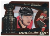 2008/09 Upper Deck Black Diamond Run for the Cup #CUP27 Jason Spezza /100