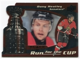 2008/09 Upper Deck Black Diamond Run for the Cup #CUP28 Dany Heatley /100
