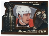 2008/09 Upper Deck Black Diamond Run for the Cup #CUP29 Mike Richards /100