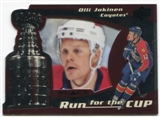 2008/09 Upper Deck Black Diamond Run for the Cup #CUP31 Olli Jokinen /100