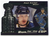 2008/09 Upper Deck Black Diamond Run for the Cup #CUP37 Paul Kariya /100