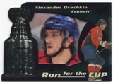 2008/09 Upper Deck Black Diamond Run for the Cup #CUP42 Alexander Ovechkin /100
