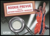 2008/09 Upper Deck SkyBox Rookie Prevue #RPAR Anthony Randolph