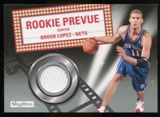 2008/09 Upper Deck SkyBox Rookie Prevue #RPBL Brook Lopez