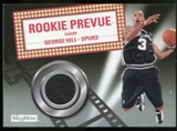 2008/09 Upper Deck SkyBox Rookie Prevue #RPGH George Hill