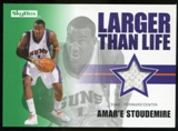 2008/09 Upper Deck SkyBox Larger Than Life Retail #LLAS Amare Stoudemire