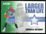 2008/09 Upper Deck SkyBox Larger Than Life Retail #LLCA Carmelo Anthony