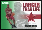 2008/09 Upper Deck SkyBox Larger Than Life Retail #LLLJ LeBron James