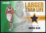 2008/09 Upper Deck SkyBox Larger Than Life Retail #LLME Monta Ellis