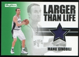 2008/09 Upper Deck SkyBox Larger Than Life Retail #LLMG Manu Ginobili