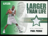 2008/09 Upper Deck SkyBox Larger Than Life Retail #LLPP Paul Pierce