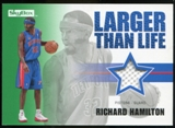 2008/09 Upper Deck SkyBox Larger Than Life Retail #LLRH Richard Hamilton