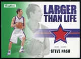 2008/09 Upper Deck SkyBox Larger Than Life Retail #LLSN Steve Nash