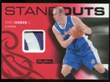 2008/09 Upper Deck SkyBox Standouts Patches #SOCK Chris Kaman /25
