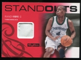2008/09 Upper Deck SkyBox Standouts Patches #SOFO Randy Foye /25