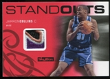 2008/09 Upper Deck SkyBox Standouts Patches #SOJC Jarron Collins /25