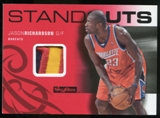 2008/09 Upper Deck SkyBox Standouts Patches #SOJR Jason Richardson /25