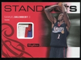 2008/09 Upper Deck SkyBox Standouts Patches #SOSD Samuel Dalembert /25