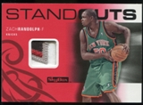 2008/09 Upper Deck SkyBox Standouts Patches #SOZR Zach Randolph /25