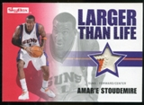 2008/09 Upper Deck SkyBox Larger Than Life Patches #LLAS Amare Stoudemire /25