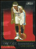2008/09 Upper Deck SkyBox Metal Universe Precious Metal Gems Red #5 Carmelo Anthony /50