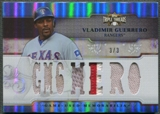 2014 Topps Triple Threads #TTRVG3 Vladimir Guerrero Relics Sapphire Patch #3/3