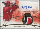 2014 Topps Tier One #TOARBH Billy Hamilton Rookie Patch Auto #27/99