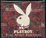 Playboy Centerfold Collector Trading Cards Box (1995 April Edition)