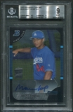 2005 Bowman Chrome #349 Matthew Kemp Rookie Auto BGS 9
