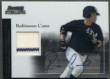 2004 Bowman Sterling #RC Robinson Cano Rookie Jersey Auto