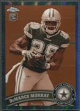 2011 Topps Chrome #173 DeMarco Murray Rookie Sepia Refractor #63/99