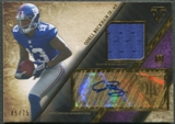 2014 Topps Triple Threads #TTRAR52 Odell Beckham Jr. Rookie Purple Jersey Auto #45/75
