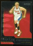 2008/09 Upper Deck SkyBox Metal Universe Precious Metal Gems Red #52 Chris Kaman /50