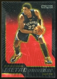 2008/09 Upper Deck SkyBox Metal Universe Precious Metal Gems Red #61 Rudy Gay /50