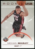2008/09 Upper Deck SkyBox Ruby #202 Michael Beasley /50