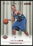2008/09 Upper Deck SkyBox Ruby #205 Kevin Love /50