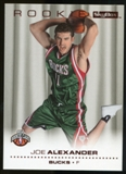 2008/09 Upper Deck SkyBox Ruby #208 Joe Alexander /50