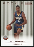 2008/09 Upper Deck SkyBox Ruby #215 Roy Hibbert /50