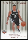 2008/09 Upper Deck SkyBox Ruby #217 George Hill /50
