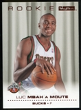 2008/09 Upper Deck SkyBox Ruby #227 Luc Richard Mbah A Moute /50