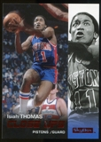 2008/09 Upper Deck SkyBox Ruby #182 Isiah Thomas CU /50