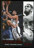 2008/09 Upper Deck SkyBox Ruby #196 Tim Duncan CU /50